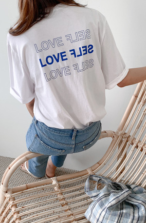 BACKロゴTシャツ[size:FREE / 3color]
